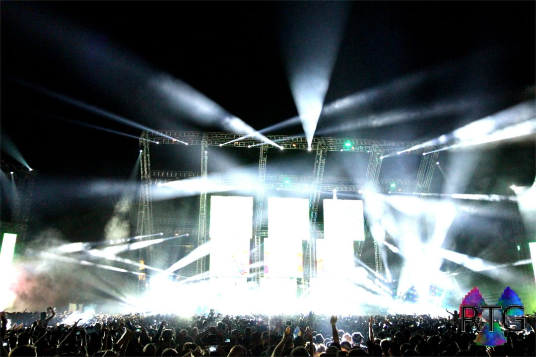 RTG designs and builds stages for music festivals.