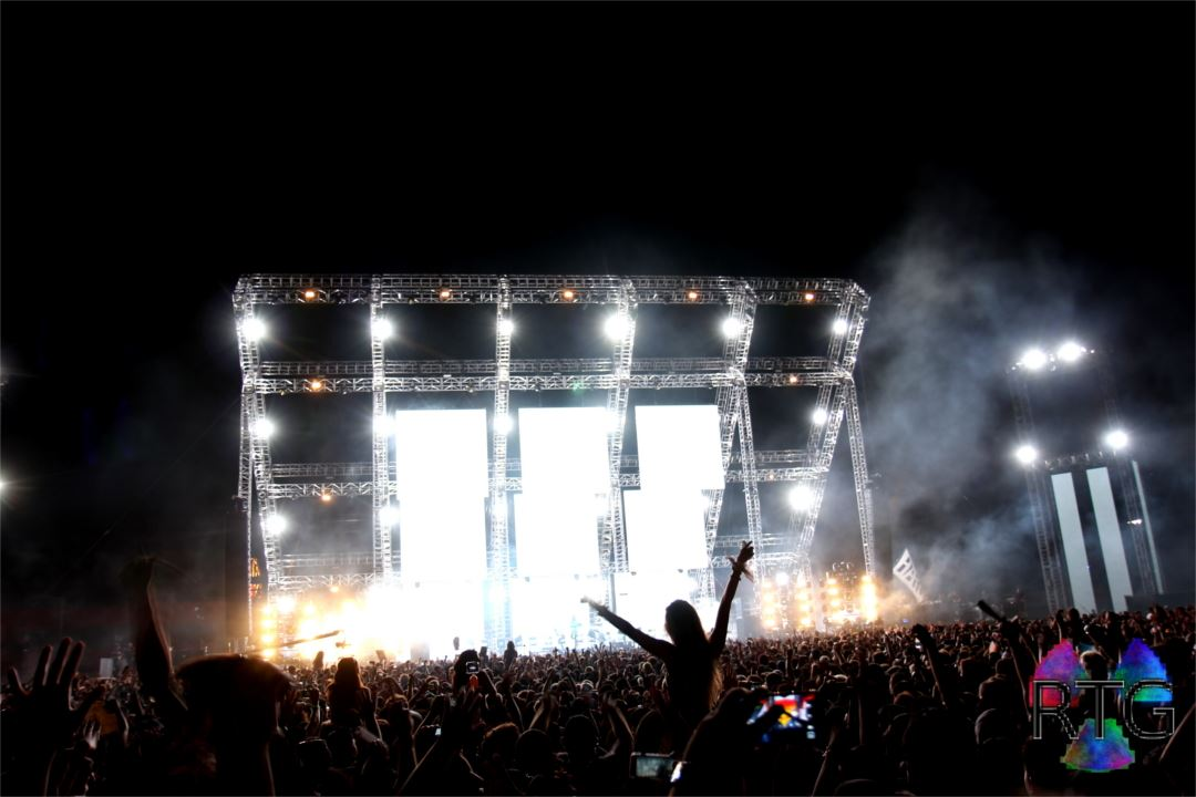Hardfest stage by RTG