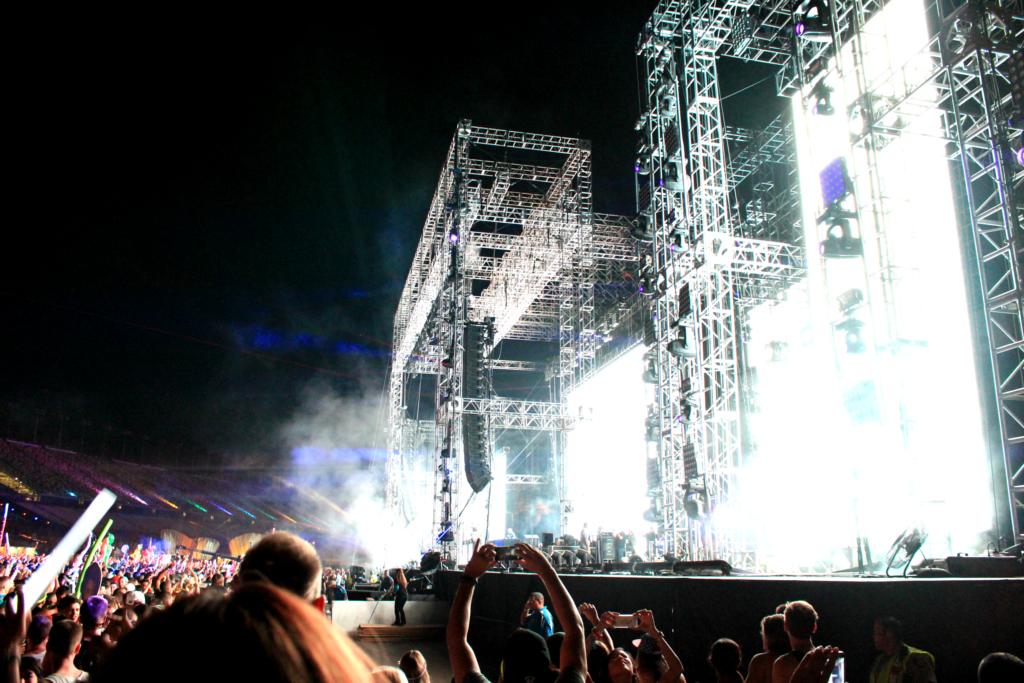 EDM mega stage by RTG