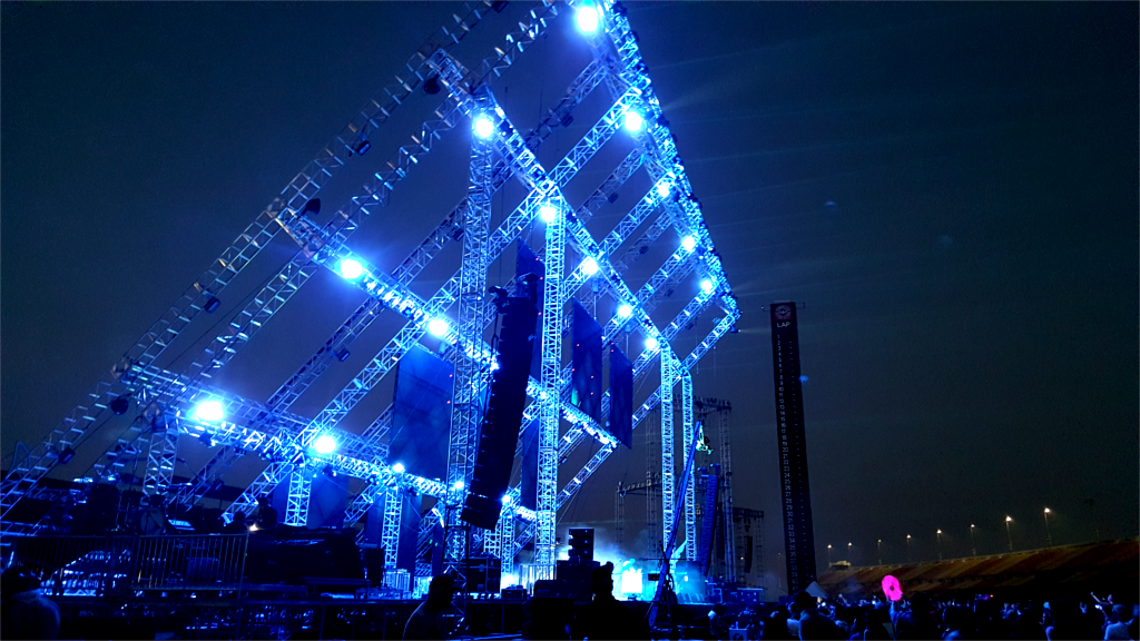 outdoor music festival stages