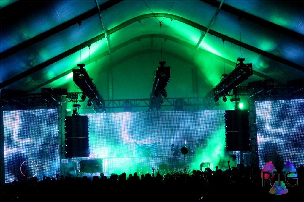 indoor festival stage