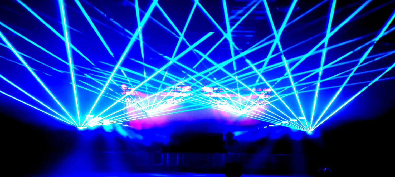 lasers and video